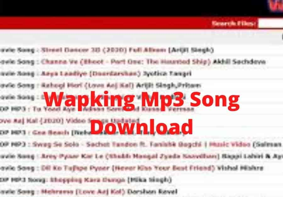 Wapking Mp3 Song Download